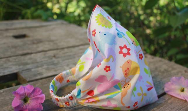 Выкройка Как сшить косынку на резинке для девочки своими руками: выкройка для женщины