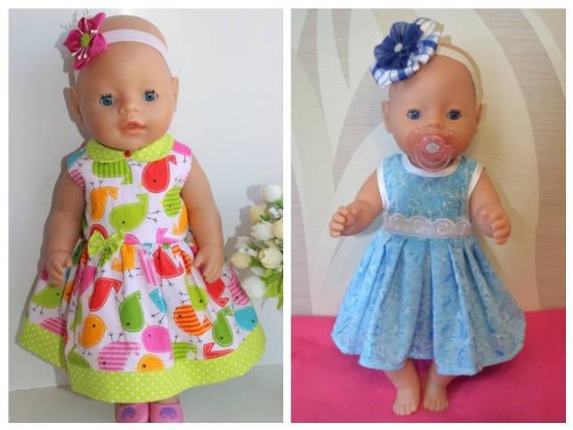 Выкройка Одежда для кукол (Baby Born, Anabel и др