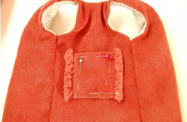 Кармашек на одежде
