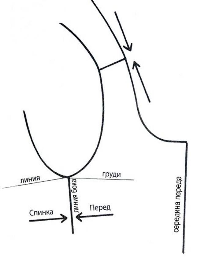 Выкройка Слитные купальники (размер 89cm – 68cm – 92cm)